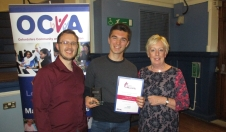 Young Volunteer of the Year Award 2017 for Ollie Pentz